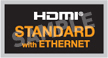 Standard HDMI Cable with Ethernet